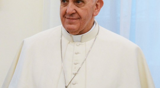 Pope Francis urges action against human trafficking