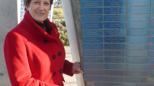 League Commemorative Plaque Installed at Juno Beach Centre in Normandy, France