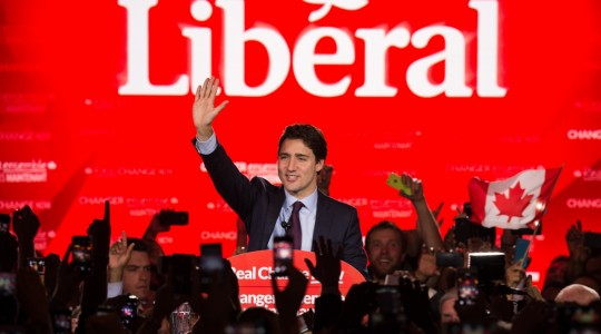 Congratulatory Letter to Prime Minister Justin Trudeau