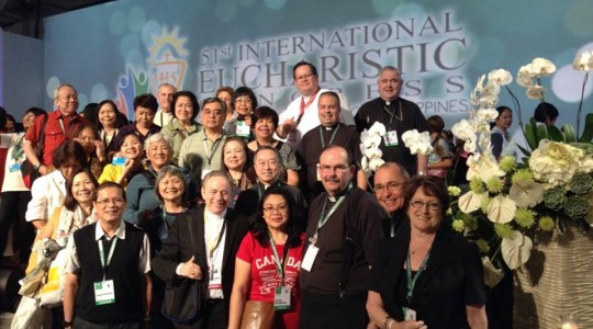 National President Barbara Dowding's trip to the International Eucharistic Congress in the Philippines